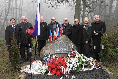 Spomienka na partizánov spred 72 rokov v Studenom Potoku