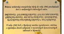 V druhú trojičnú nedeľu v Ratkovej odhalili pamätnú tabuľu venovanú ratkovským  židovským žiakom