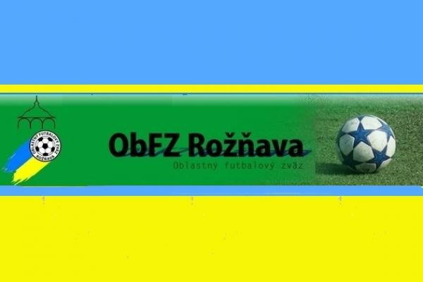 Úradná správa ObFZ Rožňava č. 6/2016-2017