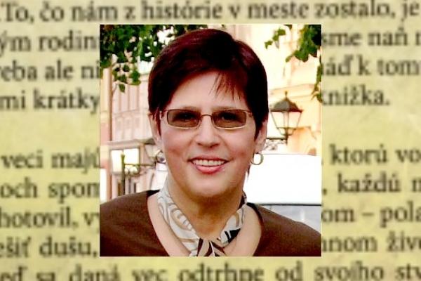 """Beseda s Katarínou Borosovou, autorkou knihy """"Sobotské osudy"""""""