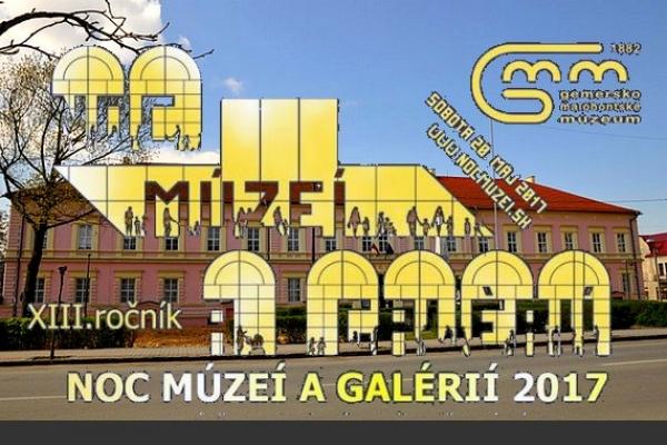 Trinásty ročník Noci múzeí a galérií v Gemersko-malohontskom múzeu v Rimavskej Sobote podporilo 548 návštevníkov