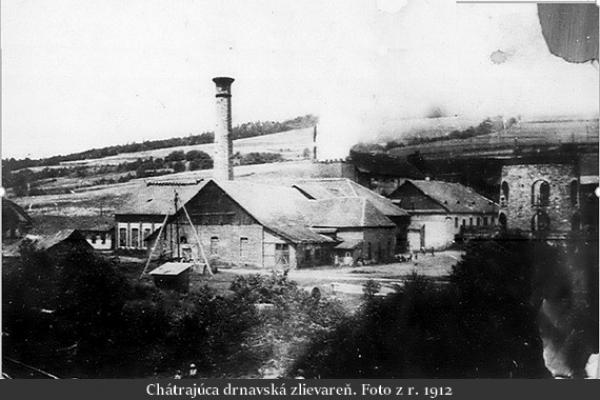 Z histórie železiarstva v Drnave